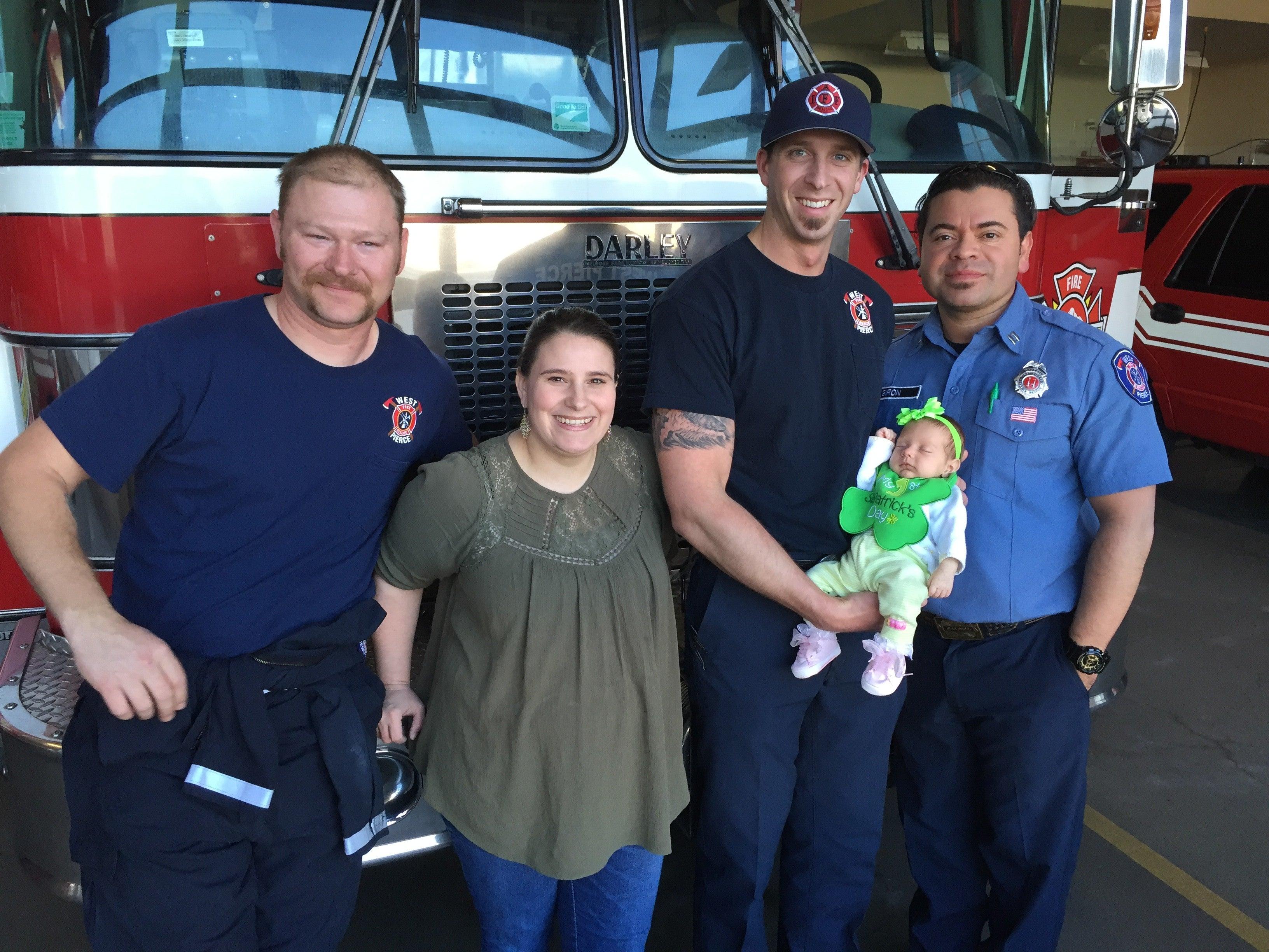 Two Babies Visit West Pierce