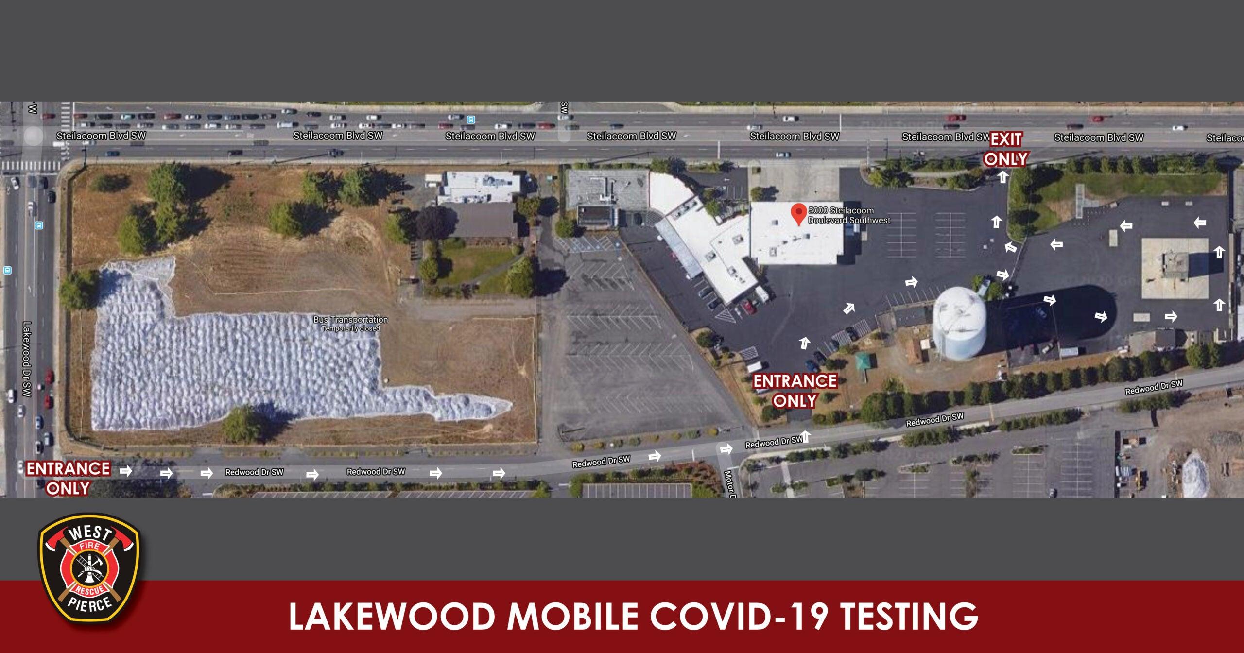 Mobile COVID testing